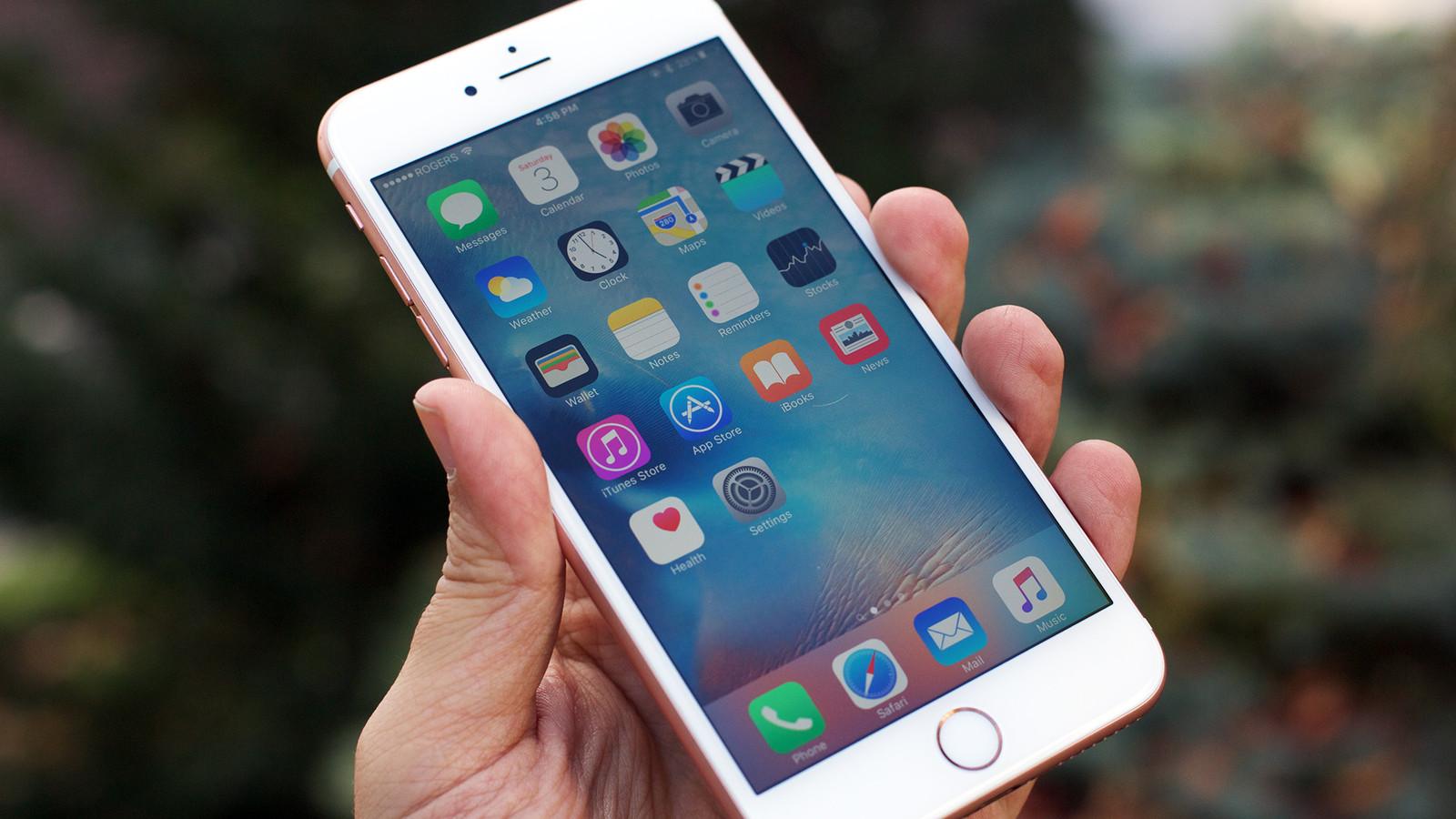 Imagem da tela inicial o Iphone