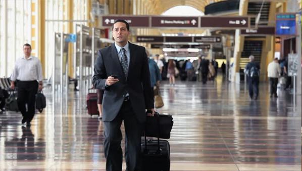 Advogado no aeroporto