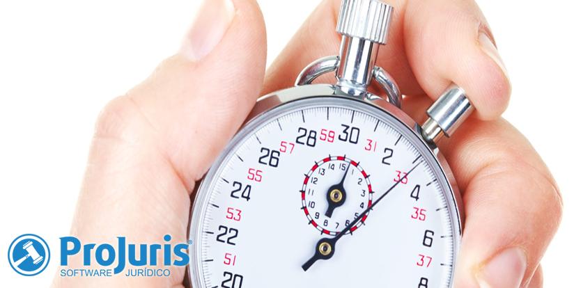 Timesheet para controlar atividades de advogados no ProJuris Enterprise